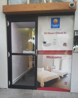 Key Safe Comfort Inn