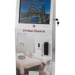 Check Inn Touch Screen Motel Hotel Kiosk