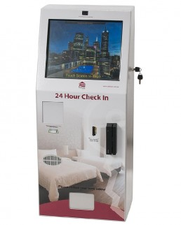 Check Inn Touch Screen Motel Hotel Kiosk